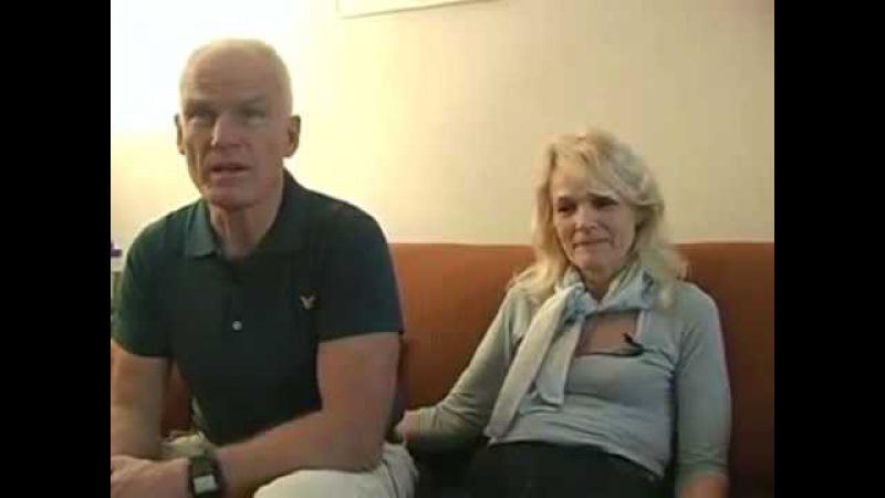 Лама Оле и Ханна Нидал о встрече с Кармапой XVI (рус суб)