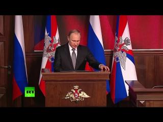 Владимир Путин_ Любые силы, угрожающие ВС РФ в Сирии, подлежат уничтожению