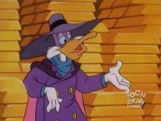 Черный Плащ 1 сезон 28 серия / Darkwing Duck 1x28 (1991 - 1995) Война и любовь по фаренгейту