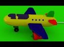 Развивающие мультики для малышей: Грузовик Тема и Большой Самолет (мультфильм для детей про машинки)