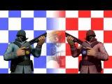 Soldier Vs. Masked Spy