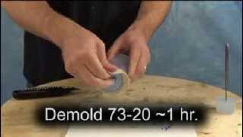 Изготовление форм и литье полиуретана