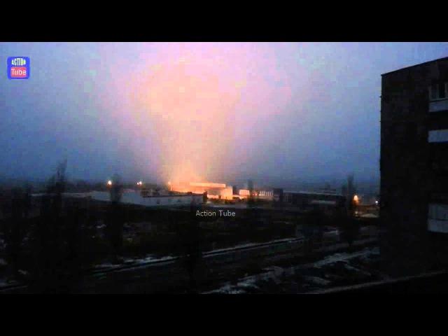 22 января 2015. Горловка. Грады Днр стреляют в Горловке/DNR Grads firing in Gorlovka