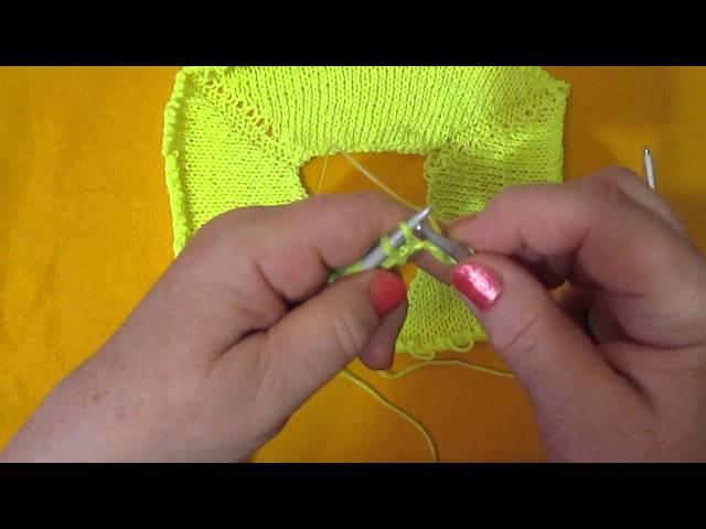 Вязание спицами реглан видеоуроки