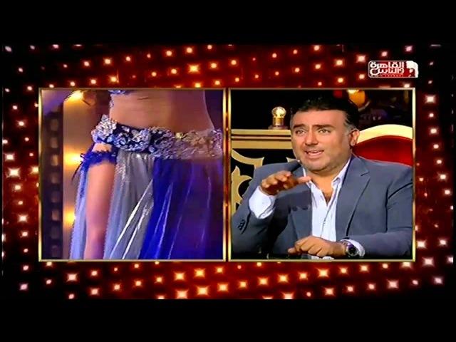 Alla Kushnir on tv progect AL RAKESA on AL KAHERA WAL NAS