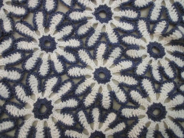 Цветочный мотив Floral motif Crochet