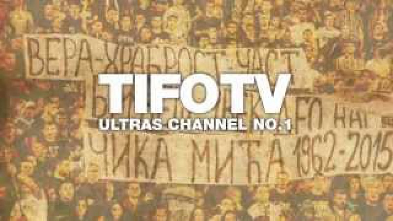 Grobari - Chant Zasto cutite - TifoTV Ultras Channel No.1