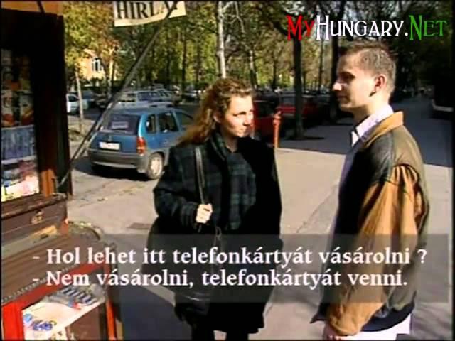 Изучение венгерского языка шаг за шагом Серия 3