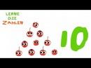 Lerne die Zahlen mit den Frechen Freunden, Kinderlied deutsch