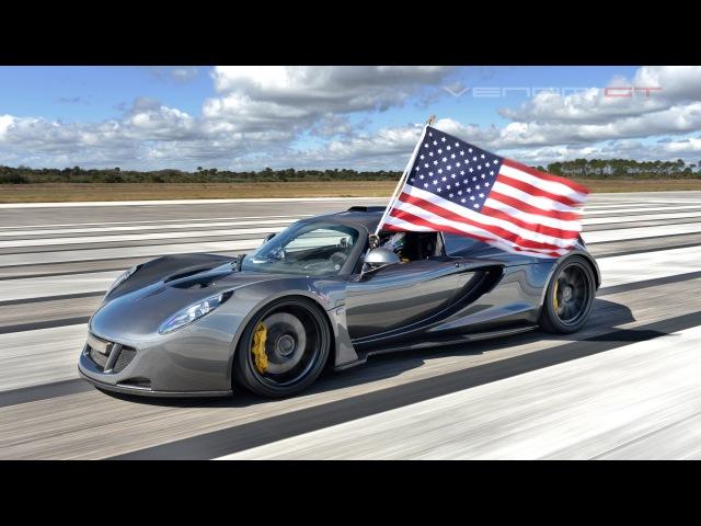 Worlds Fastest 270.49 mph Hennessey Venom GT