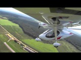 Плоский штопор самолёта SIGMA 4P