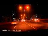 Метеорит в ночном небе Бангкока 2.11.2015. A meteor in the night sky Bangkok 2.11.2015