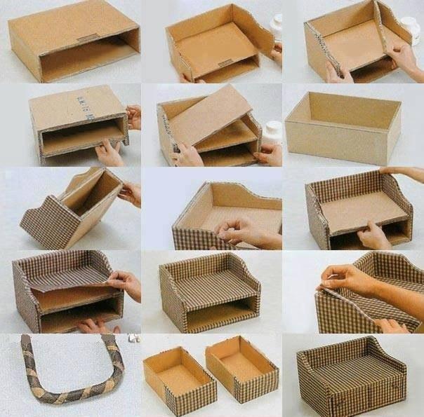 Как сделать вещи для кукол из бумаги и картона