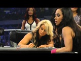 WWE Smackdown 071213 Kaitlyn &amp AJ Lee Contract Signing