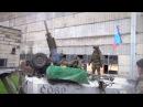 Мобильный миномет ДНР за работой - Ukraine: Mobile mortar Vasilek Novorossiya militia firing