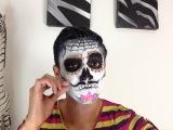 Tutorial Maquillaje de Catrin / Sugar Skull Man Makeup Tutorial