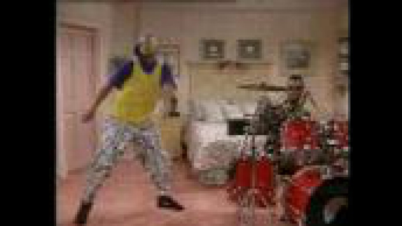 Fresh Prince of Bel Air, Jazzy Jeff on Drums Dance ****SUBSCRIBE****