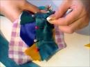 Crazy Quilt Mardi Gras Всё очень просто Всё вручную Лоскутное шитье для новичков