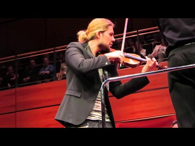 David Garrett Devil`s Trill Sonata Tartini Lübeck 25 05 14