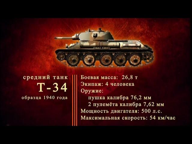 Д/ф «Оружие Победы» - Средний танк Т-34