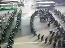 тренировка ОМОН на разгон толпы