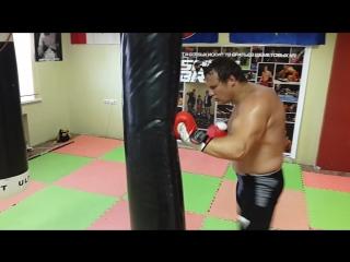 Сергей Шеметов тренируется в Академии бр.Шеметовых