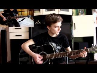 Звери - Никому Cover) , парень охрененно поет, замечательный голос, шикарно поет