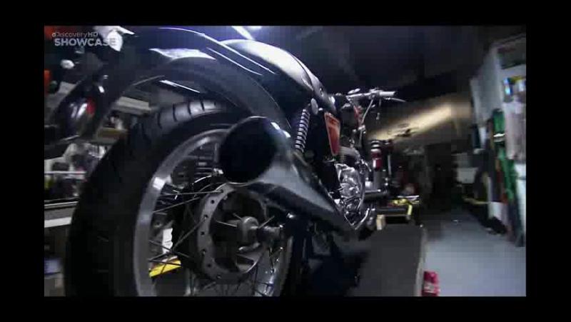 Discovery Гоночный мотоцикл Cafe Racer 2 сезон 12 13 серия