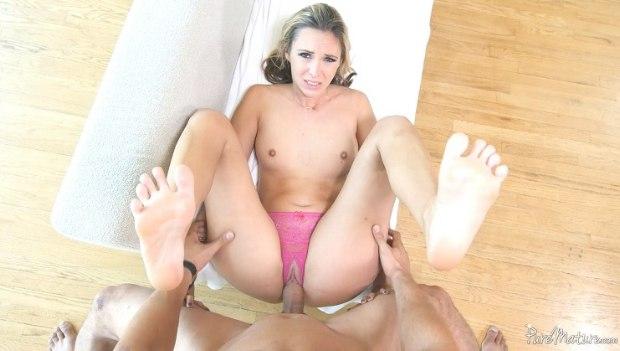 PureMature – Crotchless Panties – Allie Knox