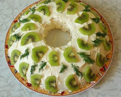 Новые рецепты салатов с фото на новый год