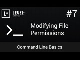Command Line Basics #7 - Modifying File Permissions