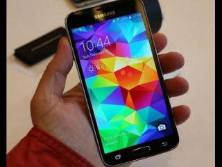 Обзор Samsung Galaxy S5 copy копия новинка dual core