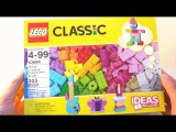 Lego Classic 2015 Unboxing 10694 - Creative Supplement Bright 303 pieces Ideas Included