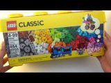 Lego Classic 2015 Unboxing 10696 - Medium Creative Brick Box 484 pieces Ideas Included