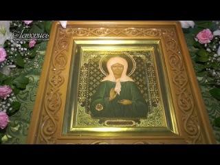 Икона св. Матроны Московской в Старом Осколе. 2014
