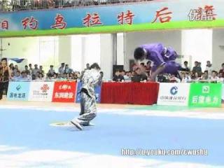 2014年全国武术套路锦标赛(男子)二人对练 014 王典 高久尚(四川)