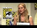 The Hunger Games: Mockingjay Part 2 COMIC-CON PANEL (HD) Jennifer Lawrence Movie 2015