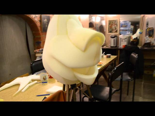 Мастер-класс по изготовлению маски Лев Алекс из поролона