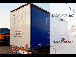 Обзор шторного прицепа TANG ZCS 107 2010 года