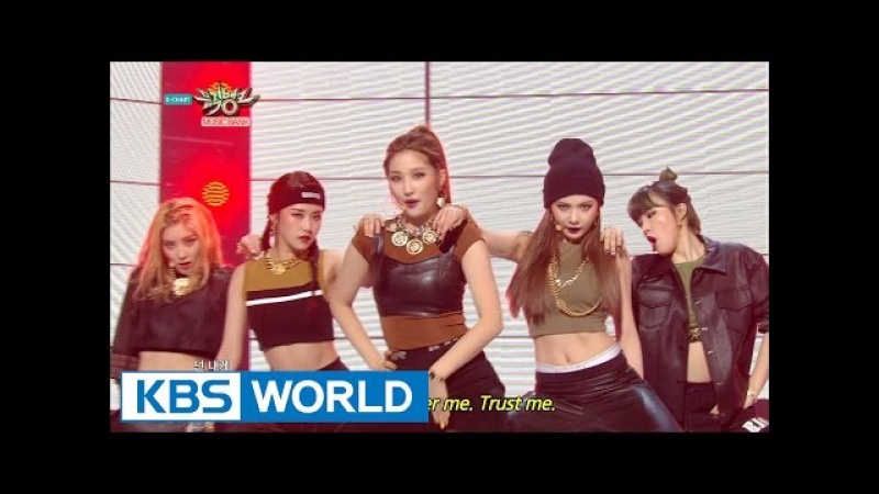 4minute - Crazy | 포미닛 - 미쳐 [Music Bank HOT Stage / 2015.03.13]
