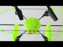 JRC 3D 4CH RC Sky Walker JRC1306 2 4G Quadcopter Aerocraft with Four axis Gyroscope RTF flying Video