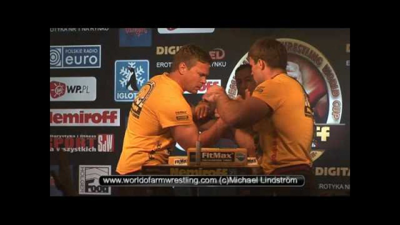Final John Brzenk vs Denis Cyplenkov Nemiroff 2008 World of