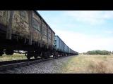 2ТЭ116 1347 с грузовым и приветливая лок бригада.Перегон Бердянск-Берда
