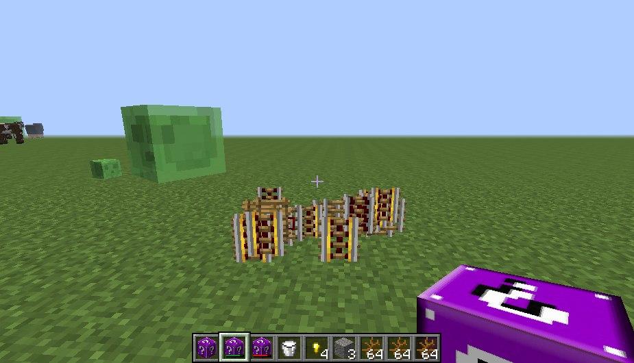 [1.7.10] Lucky Block Lilac Mod - Новый лаки блок и не только !