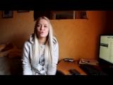Красивая девушка красиво поет IOWA - это песня простая