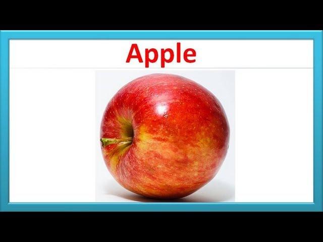 Learning Fruit Names for Kids