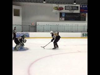 Jake DeBrusk proves behind-the-legs goals are all the rage this summer - NHL