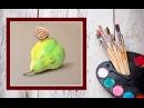 Как нарисовать грушу пастелью! Dari Art