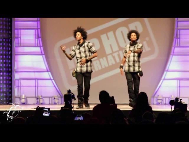 Les Twins | World Hip Hop Dance Finals 2013 | SXSTV