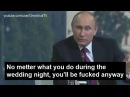 "Putin to Merkel :  No matter what you do, you will be fucked anyway (Реакция Меркель на ""юмор"" Путина)"